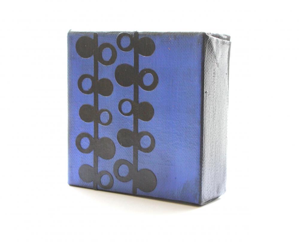 Mid Century Design- Art Block- Free Shipping